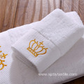 100%Cotton Luxury custom Embroidered logo Hotel Bath Towel