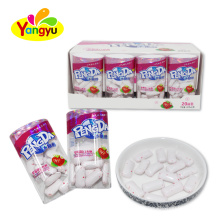 Halal Strawberry Xylitol Chewing Gum