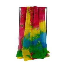 Новые женские модные девушки длинный мягкий шифон шарф Wrap платок шарфы украл