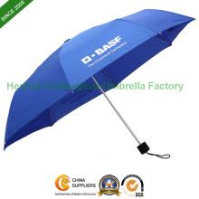 En aluminium trois pli, parapluie de Promotion (FU-3821A)