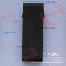 Clips de bolsa de cinturón negro sin plomo de impresión láser europeo