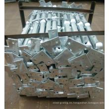 Hot DIP galvanizado acero pasamanos para proyectos