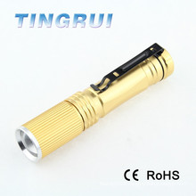 Led flashlight 900lm XML T6 high power led police brand flashlight