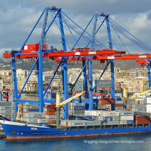 Quayside container sts model double beam gantry crane 100 ton load lift