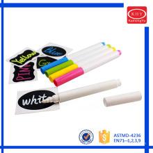 Wet erase colorful window chalk marker