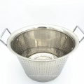Factory Price Kitchenware Vegetable & Rice Deep Washing Basket / Fruit Colander Set