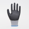 Popular Colorful Design Nitrile Work Protective Gloves