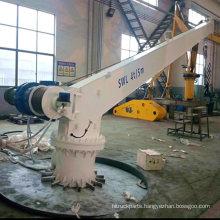 Ship Crane Electric Jib Crane 4t 5m Easy Maintenance with CCS Certificate