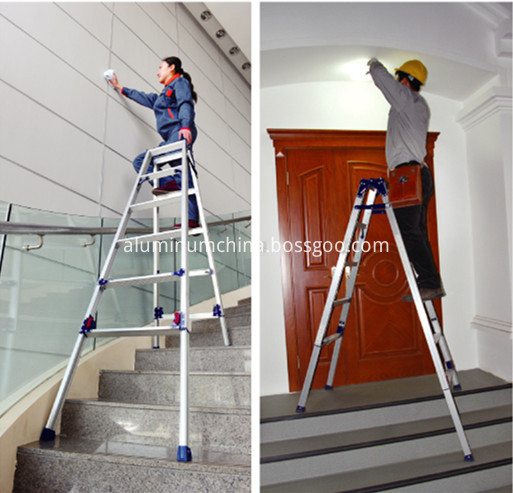adjustable A fram ladder
