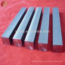 Barre carrée de tungstène 2 kg de prix de cube de tungstène par kg d'approvisionnement en vrac