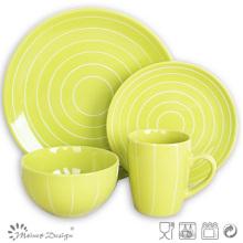 Jarra de cerámica de cerámica de 16 piezas
