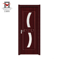 Cheap price modern designs exterior pvc composite wood door from china