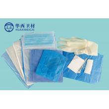 Kit de chirurgie obstétricale de naissance Drape
