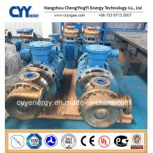 Pompe centrifuge à l'eau oxygénée liquide à base d'oxygène liquide cryogénique à l'azote