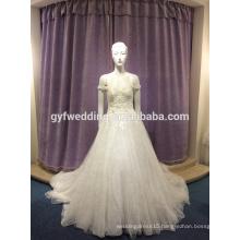 Wedding dress 2017 new long tail princess sweet slim body slim pants skirt wedding dress LJ-10023
