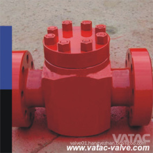 API 6A 1000psi~20000psi Piston/Swing Type Check Valve for Oil Well Equipments