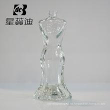 Botella de perfume cosmética de cristal del color y del diseño de la manera de Prcie de la moda diversa