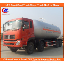 Heavy Duty 8 * 4 Dongfeng caminhão de transporte de GLP (CLW5310GYQ)