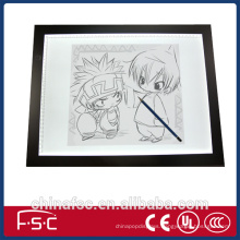 Artists dimmable sketch tracing board