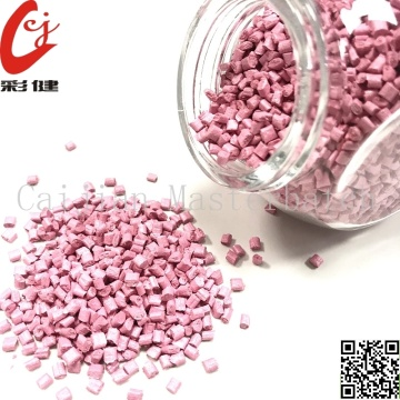 Pink No Painting Masterbatch Granules