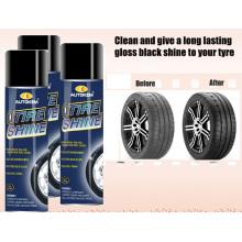 Pulverizador do aerossol do brilho do pneu do carro