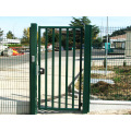 powder coated high quality single gate with lock