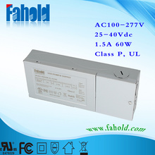 60W Constant Current Led Driver High Efficiency 90%