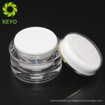 Kosmetisches Glas Acryl 50 ml Premium Kosmetikbehälter