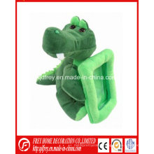 Cute Plush Aligator Toy with Photo Frame