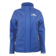 Two line Ripstop pongee fabric fleece Jacket