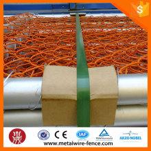 China supplier 6ft Valla temporal de enlace de cadena