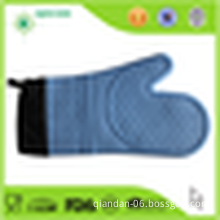 Heat Resistant Silicone Oven Mitt with Cotton Liner/Oven Glove                                                                         Quality Assured