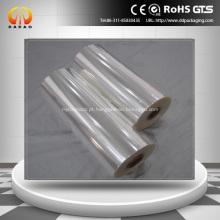 Filme de cristal transparente Bopp