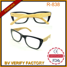 China Eyewear Factory Reading Glasses R131 with Bamboo Arms