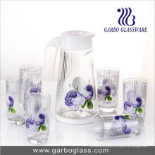 Conjunto de agua de vidrio impreso de transferencia térmica