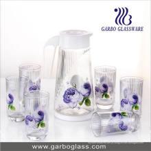 Transferência térmica de vidro impresso Set Água