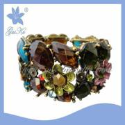 2013 Gus-Ab-017mix New Fashion Diamond Jewelry Bangle as Flower for Fashion Girls