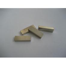 Imán permanente de la tierra rara, forma del bloque con la galjanoplastia del níquel