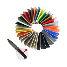 Hot Sale Factory Direct Sheet Colored G10 Handle Folding Knife Materials