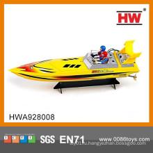 Лучшая продажа 4CH высокой скорости дистанционного управления пластиковой игрушкой лодка