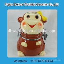 Superior monkey shape ceramic seal pot