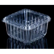 Les boîtes d'emballage de fruits transparentes sont en PET