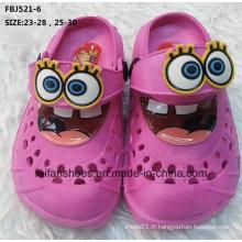 Vente chaude mode chaussures de jardin EVA pour les enfants (fbj521-6)