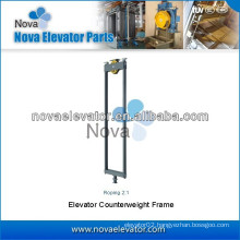 Roping 2:1 Counterweight Frame, Lift Counterweight Frame