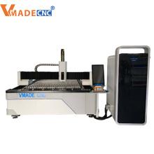 fiber laser metal cutter machine