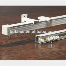 aluminium ceiling brackets window, dubai window curtain,window curtain rail accessories