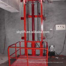 Ascenseur de moteur électrique fixe Ascenseur de rail de guidage d'entraînement