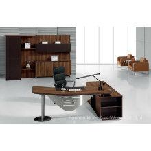 Boa Qualidade Mesa de Escritório de Escritório de Madeira Moderna (HF-TWB102)