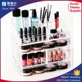 Cosmetic Organizer Luxury Jewelry Acrylic Makeup Case Drawer Multiple Display