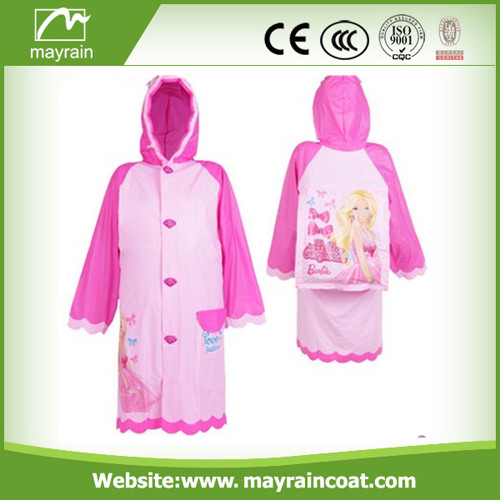 PVC Kids School Raincoat